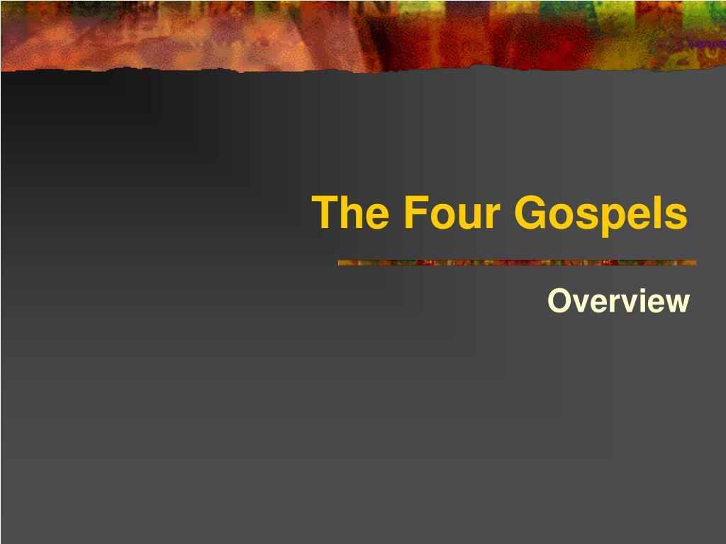 the four gospels l.