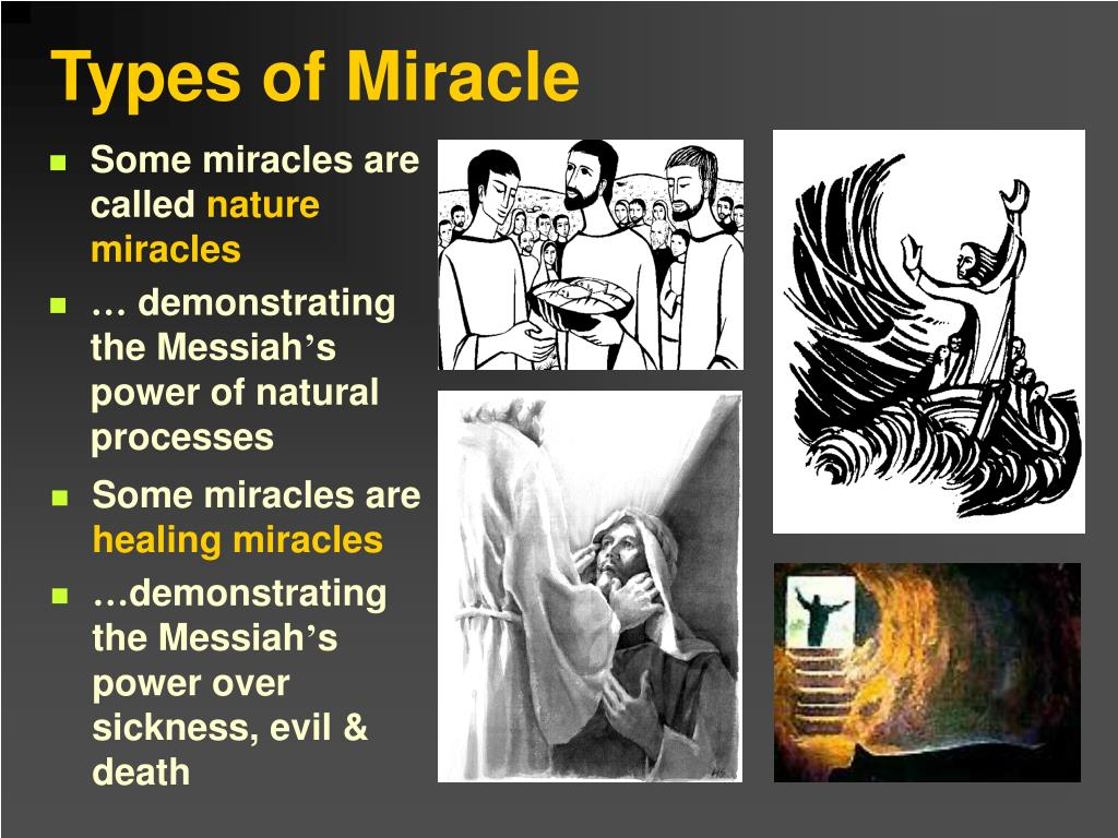 Some miracles are