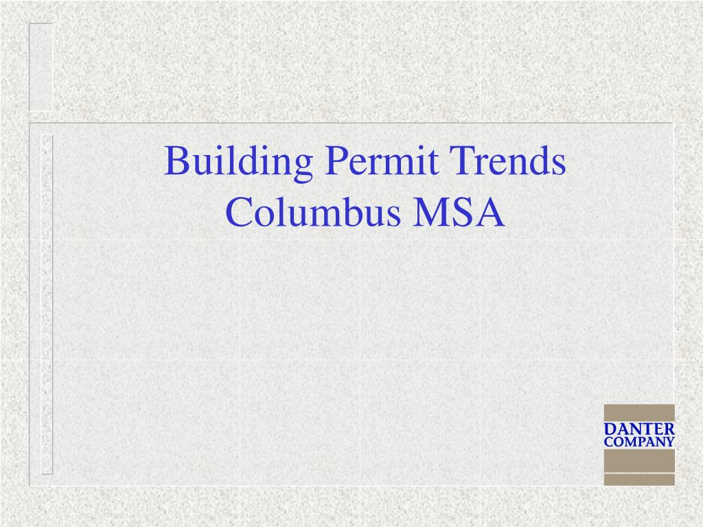 Building Permit Trends