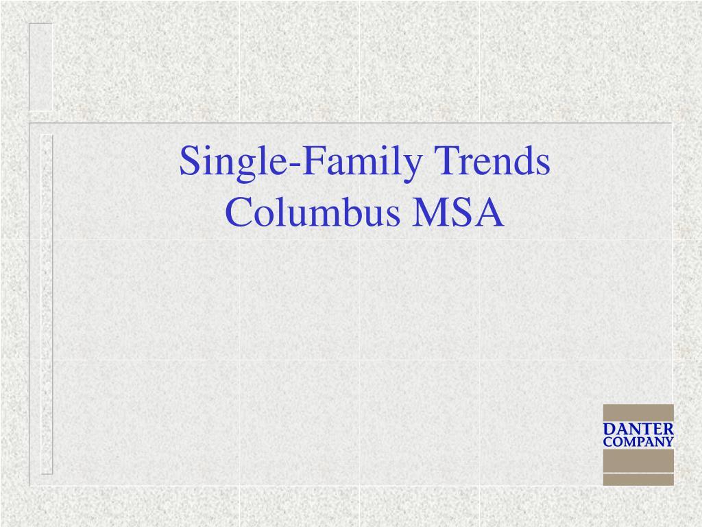 Single-Family Trends