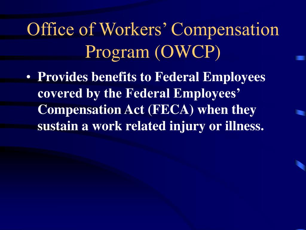 Office of Workers' Compensation Program (OWCP)