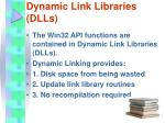 dynamic link libraries dlls