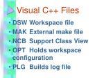 visual c files1