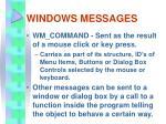 windows messages