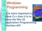 windows programming1
