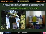 a new generation of beekeepers