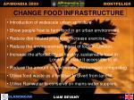 change food infrastructure