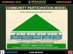 community participation model