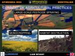 current uk agricultural practices