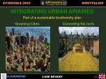 integrating urban apiaries