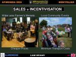 sales incentivisation