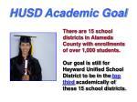 husd academic goal