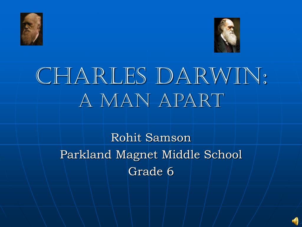charles darwin a man apart l.