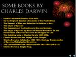 some books by charles darwin
