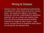 mining disease