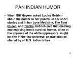 pan indian humor