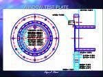 window test plate