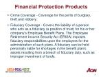 financial protection products