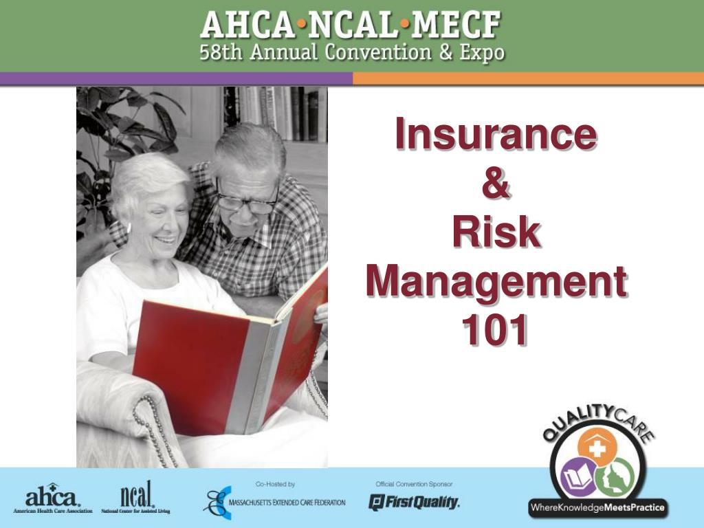 insurance risk management 101 l.