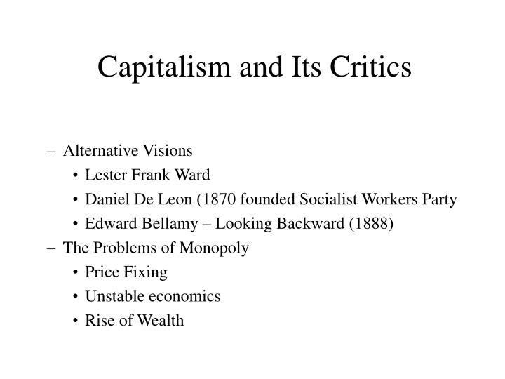 Capitalism and Its Critics
