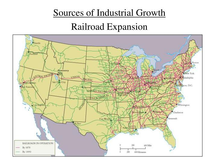 Sources of Industrial Growth