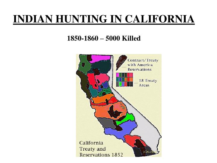 INDIAN HUNTING IN CALIFORNIA
