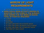 arrow of light requirements2