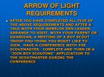 arrow of light requirements4