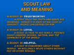 scout law and meaning11