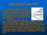 the scout salute