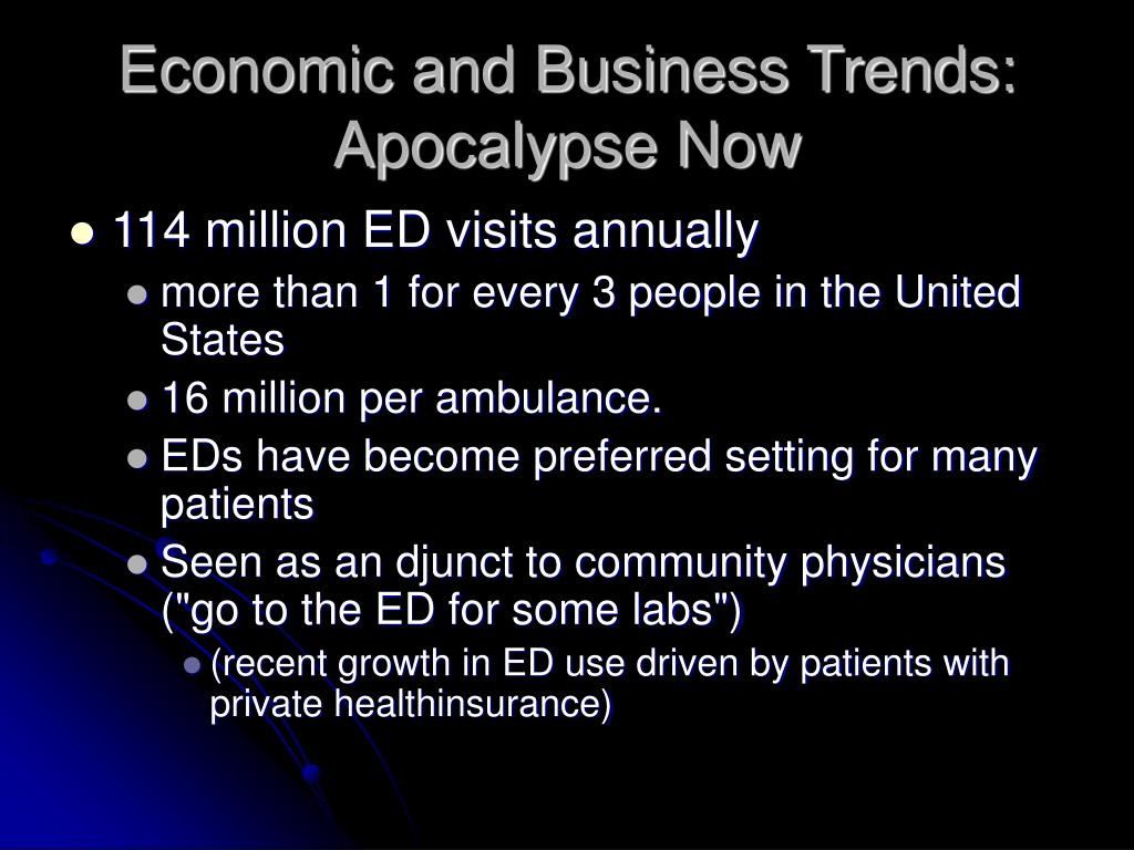 Economic and Business Trends: