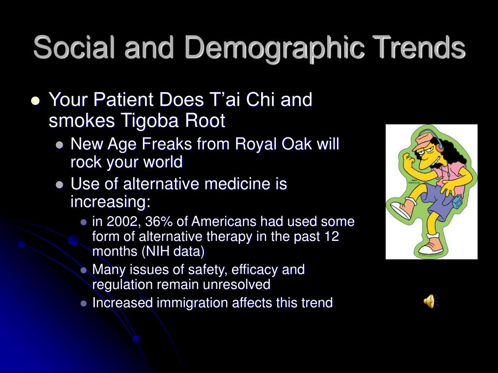 Social and Demographic Trends