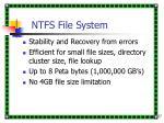 ntfs file system