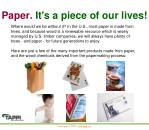 paper it s a piece of our lives
