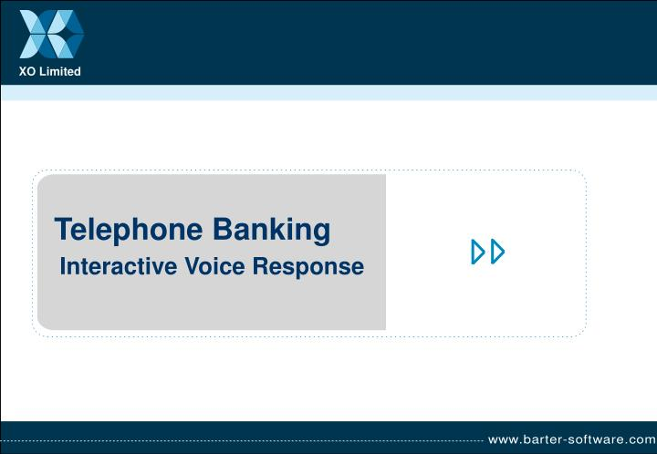 interactive voice response n.