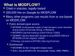 what is modflow3