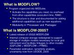what is modflow4