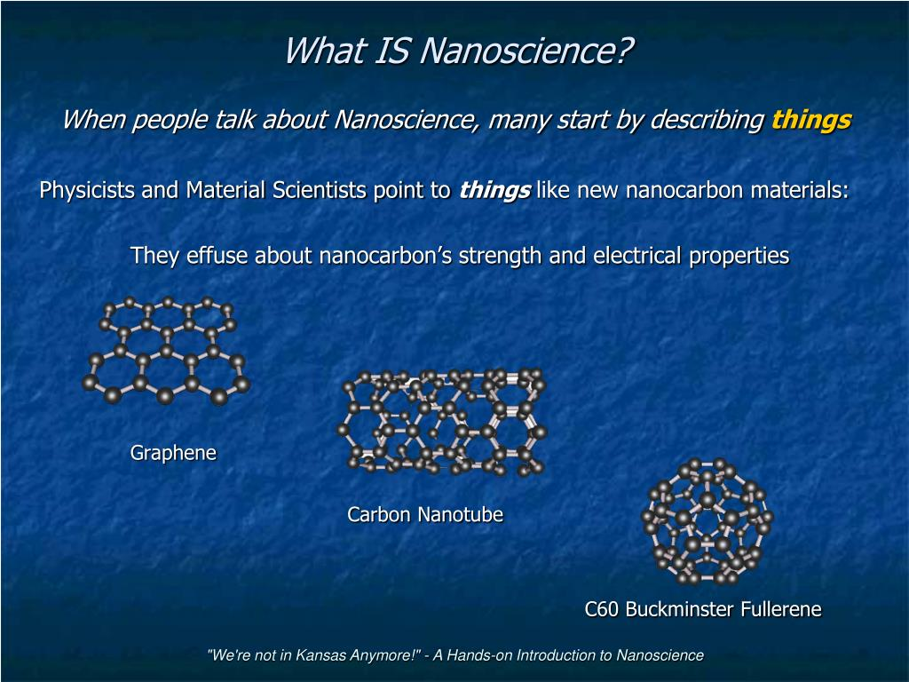 what is nanoscience l.