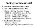 ending homelessness