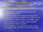 gw source water monitoring builds on existing tcr
