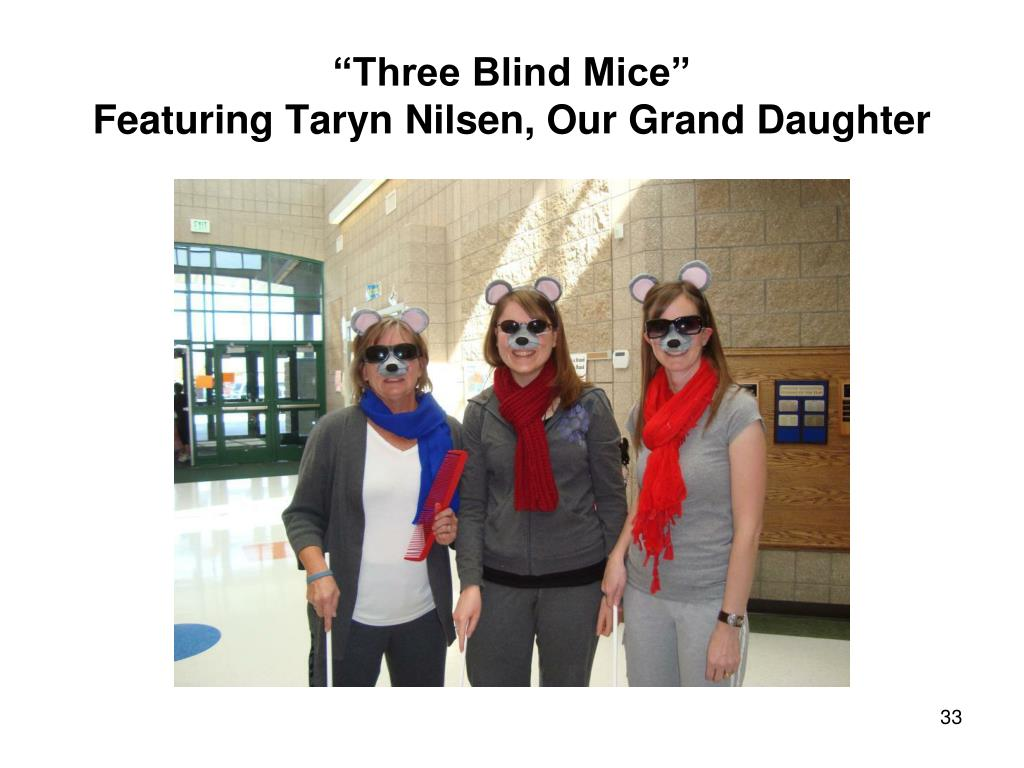 """Three Blind Mice"""