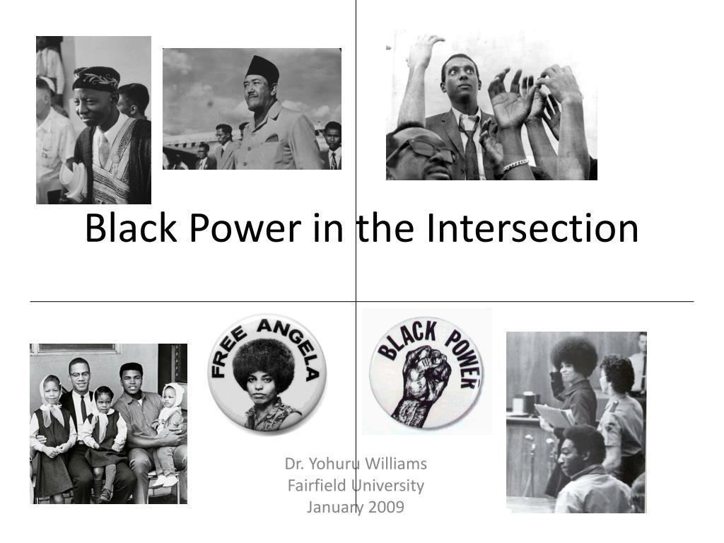 black power in the intersection l.