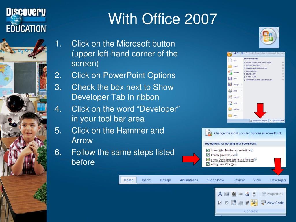With Office 2007