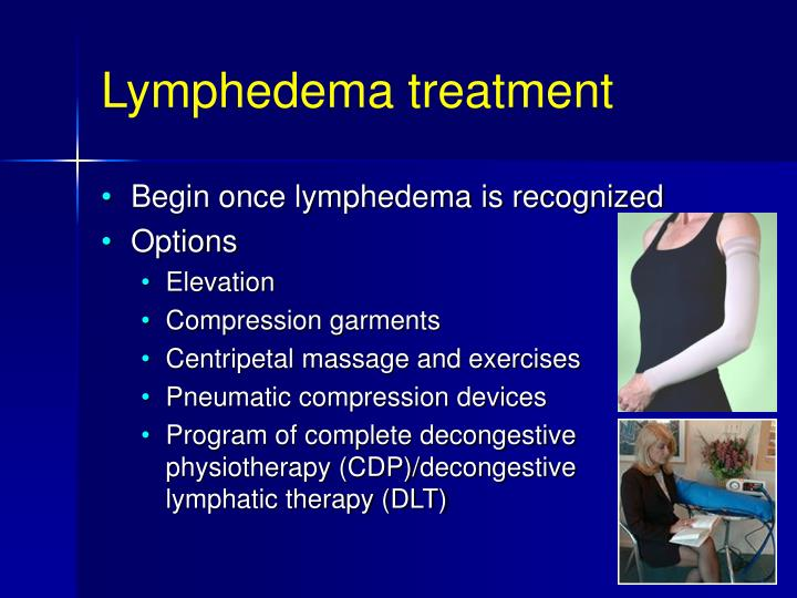 Lymphedema treatment