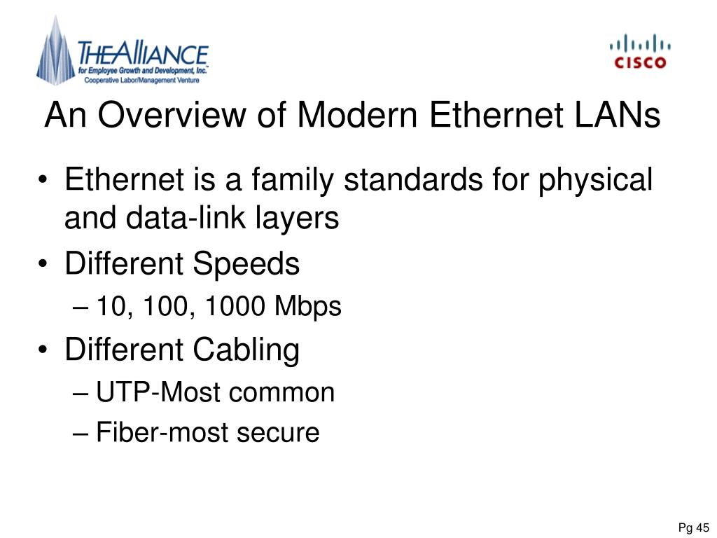 An Overview of Modern Ethernet LANs