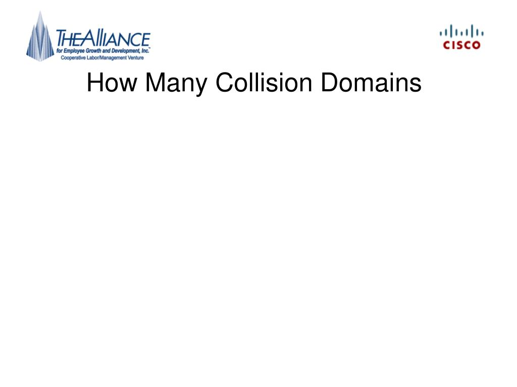 How Many Collision Domains