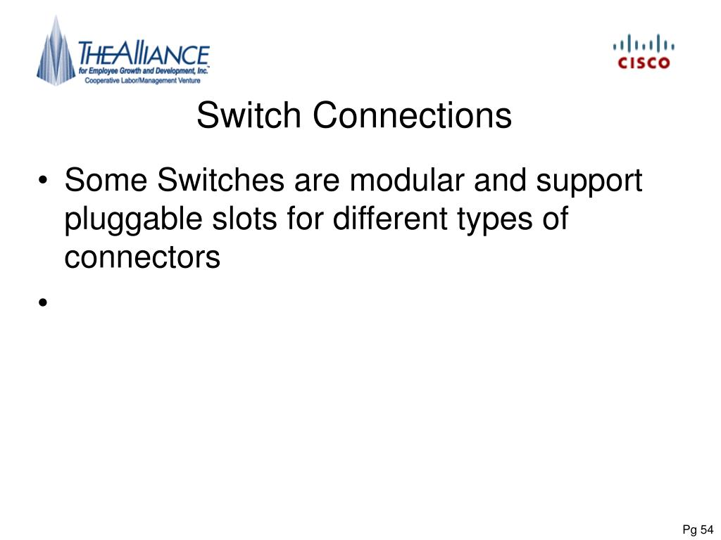 Switch Connections