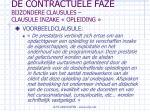 de contractuele faze bijzondere clausules clausule inzake opleiding58