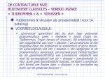 de contractuele faze bijzondere clausules verbod inzake tijdbommen virussen