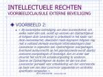 intellectuele rechten voorbeeldclausule externe beveiliging96